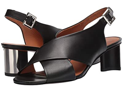 Clergerie Adrienne (Black Calf) High Heels