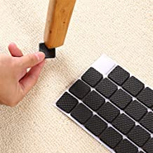TOUA Scratch Proof Self Adhesive Furniture Pads/Multi-Functional Self-Adhesive Pad/Floor Protector Furniture Pads/Furniture Chair Table Sofa Leg pad Sticky Mat (120Pcs)