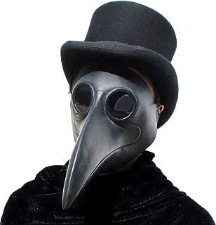 PartyHop Plague Doctor Mask Long Nose Bird Beak Steampunk Halloween Costume Props Mask