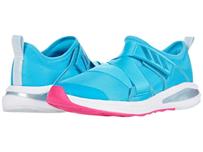 adidas Kids FortaRun X (Little Kid/Big Kid) (Signal Cyan/Footwear White/Shock Pink) Girls Shoes