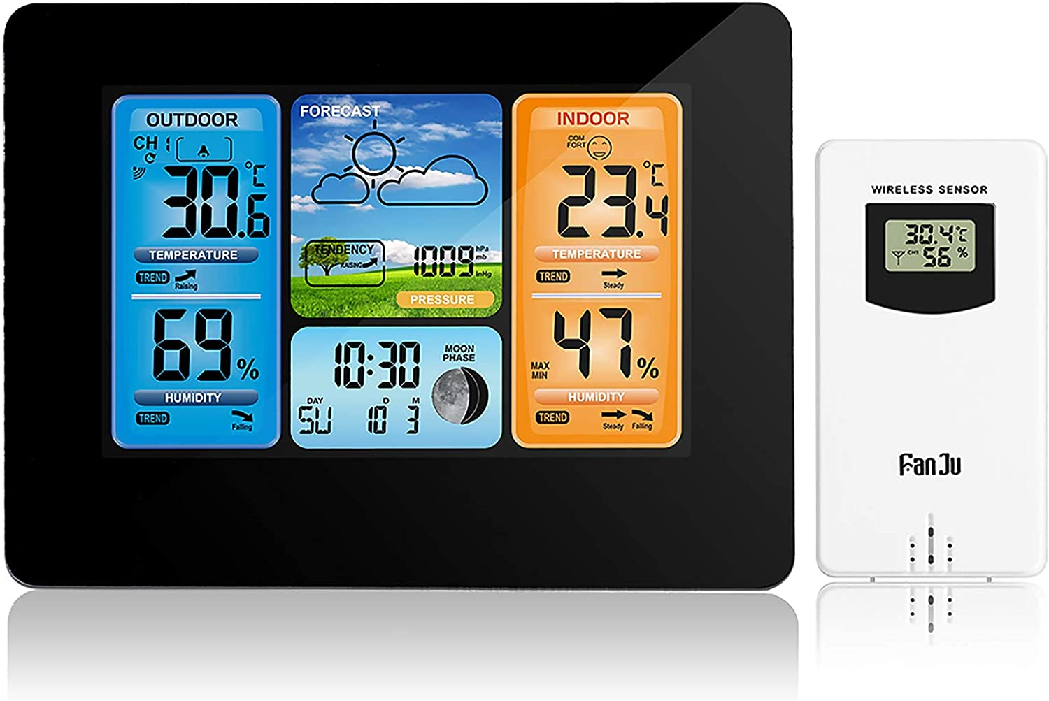 Home Weather Stations Wireless Finally popular brand For Color Indoor New products, world's highest quality popular! Outdoor