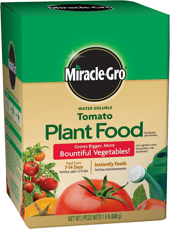 Miracle-Gro Plant Food, Tomato Fertilizer, 1.5 lb