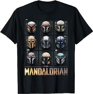 The Mandalorian Helmet Box Up T-Shirt