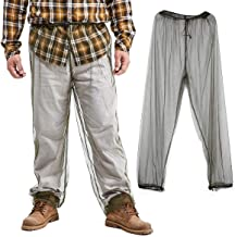 ACIVTO Bug Pants Mosquito Net Repellent Clothing - Ultimate Protection from Bugs, No-See-Ums, Midges, Perfect for Hiking, Camping, Fly Fishing & Outdoor Activities