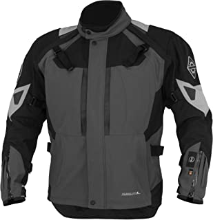 Firstgear 37.5 Kilimanjaro Textile Womens Jacket, Distinct Name: Gray/Black, Gender: Womens, Primary Color: Gray, Size: 3XL, Apparel Material: Textile