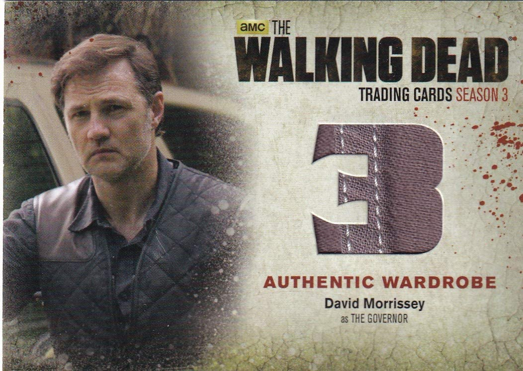 Walking Dead cryptozoic 2014 David War Governor as The Morrissey NEW free shipping