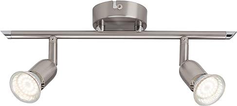 Brilliant Loona LED spottbuis, 2-vlammig, 2x LED GU10 2.5W inclusief, ijzer G28813/13