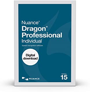 Dragon Professional Individual 15.0, Dictate Documents and Control your PC – all by Voice, [PC Download]