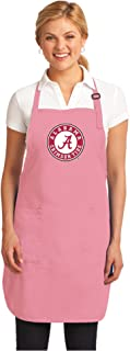 Broad Bay Pink Alabama Apron Deluxe Alabama Aprons Made in The USA