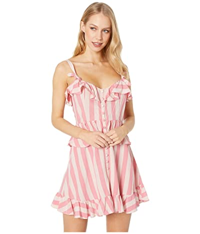 For Love and Lemons Tahiti Mini Dress (Watermelon) Women