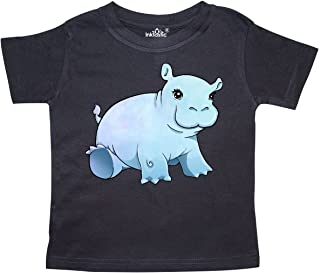 inktastic Cute Baby Hippo Toddler T-Shirt