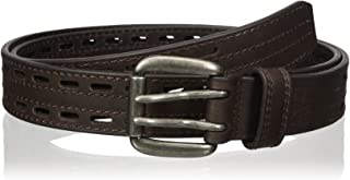 Nocona Belt Co. Men's Work Brown Double Hole