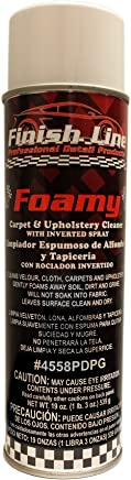 Finish Line Foamy - Carpet and Upholstery Cleaner with Inverted Spray