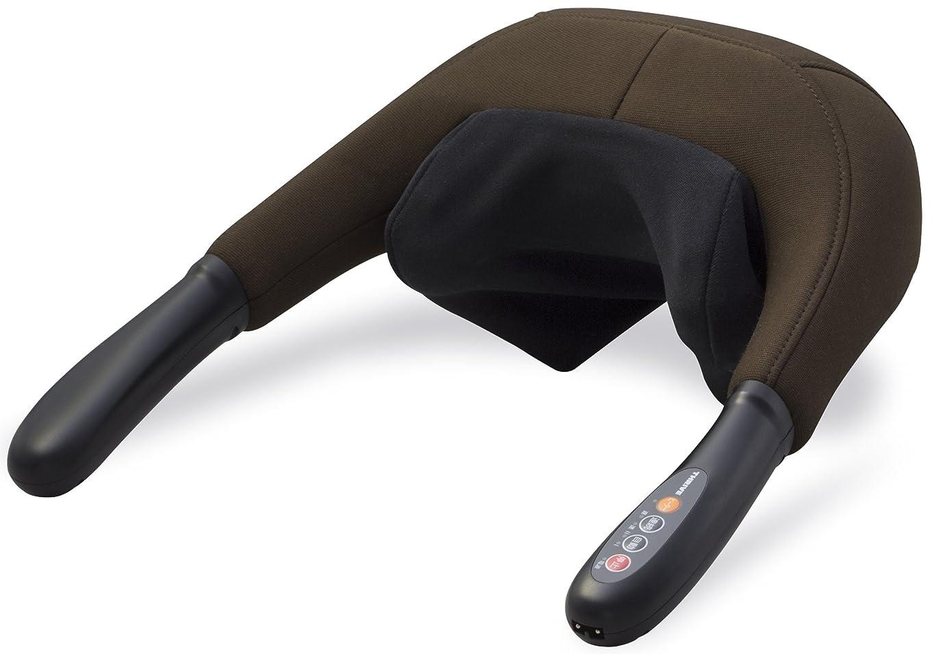 輪郭フィクションせがむスライヴ つかみもみマッサージャー(ヒーター機能搭載) ブラウン 「通販限定モデル」 MD-415(BR)