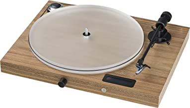 Pro-Ject Juke Box S2 Audiophile All-in-One Plug & Play Turntable System (Walnut)