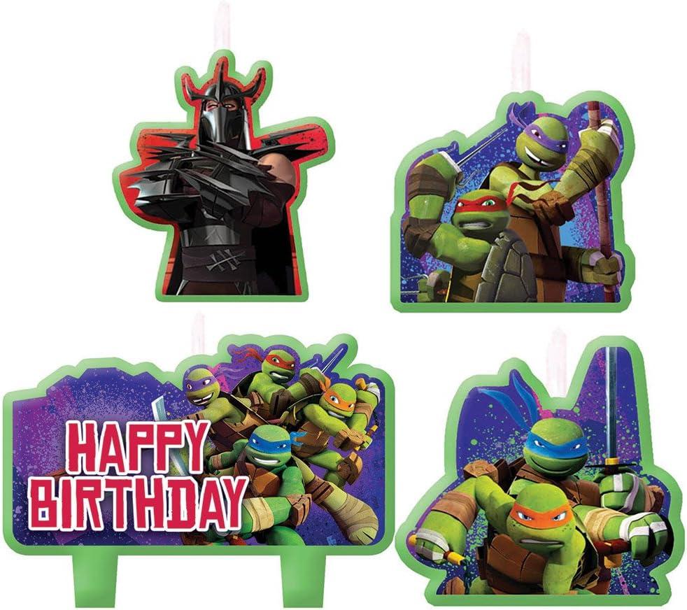 Teenage Mutant Ninja Turtles Printable Birthday Banner TMNT