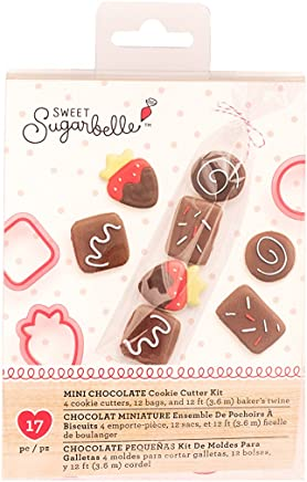 Sweet Sugarbelle 4 Piece Cookie Cutters Mini Chocolates Valentines Day