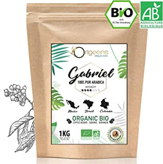 ☘️ Café en Grano Natural 1kg | Cafe Grano Arabica Ecológico | Torrefacción Artesanal | Gabriel