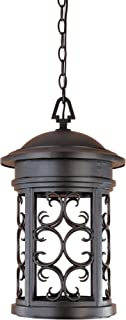 Designers Fountain 31134-ORB Ellington-DS Hanging Lanterns, Oil Rubbed Bronze