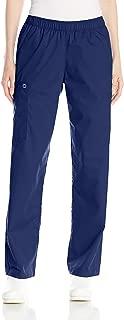 WonderWink Women's Plus-Size Wonderwork Pull-On Cargo Scrub Pant