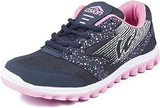 Asian shoes Riya 21 Navy Blue Pink Women Sports Shoes