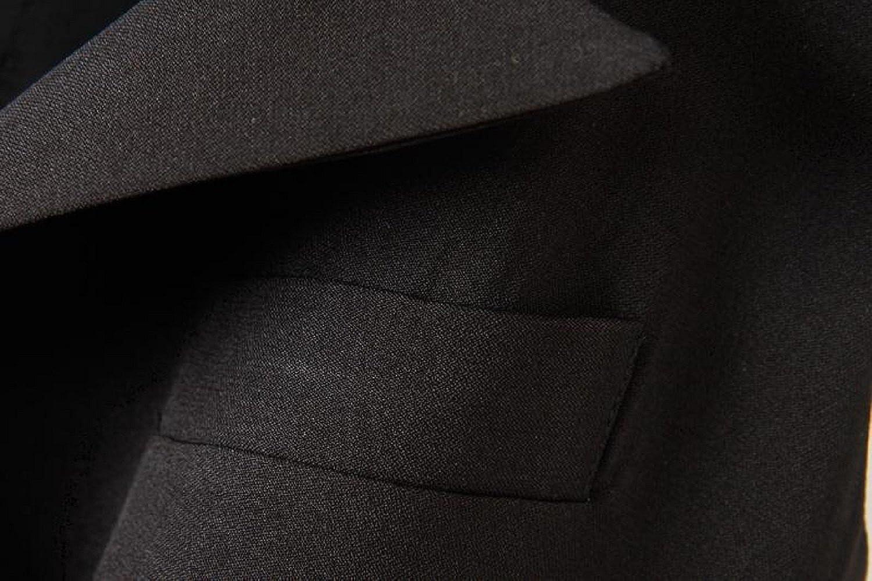 Women's Jacket Long Vest Waistcoat Black Gilet Coat Plus Size (Asian 2XL)