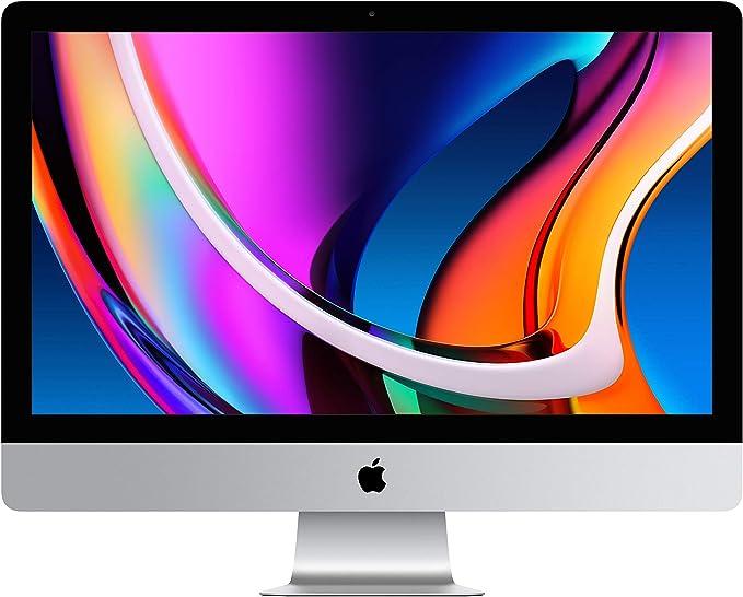 TALLA 256GB. 2020 Apple iMac Pantalla Retina5K (de27Pulgadas, 8GB RAM, 256 GB SSD Almacenamiento)