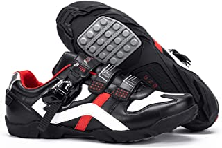 BUCKLOS Road Cycling Shoes Men, Precise Buckle Strap Mountain Bike Shoes Sneakers Spin Shoes MTB Bicycle Shoes Compatible ...