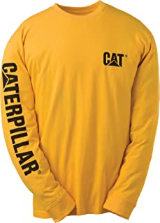 Caterpillar Men's Big and Tall Trademark Banner
