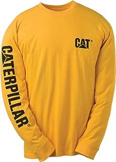 Caterpillar Men's Big and Tall Trademark Banner