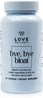 Love Wellness Bye, Bye, Bloat - Digestive Enzymes for Gut Health