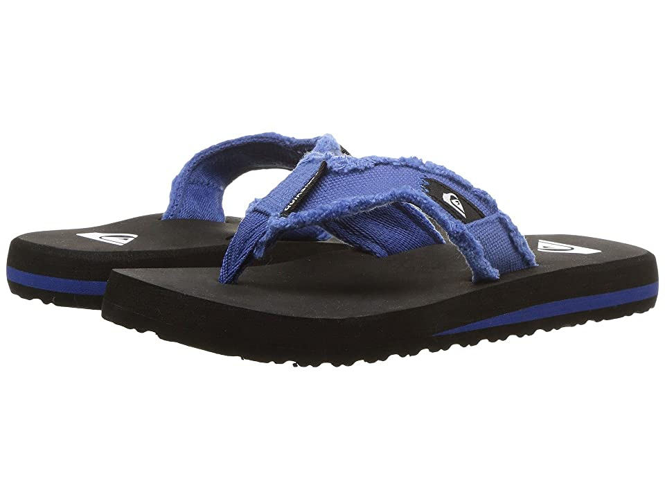 Quiksilver Kids Monkey Abyss (Toddler/Little Kid/Big Kid) (Blue/Black/Blue) Boys Shoes