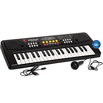 FOREMOST 37 Key Piano Keyboard Toy with USB Port & Dc Power Option, Recording, Mic with USB Port, Charger for Kids - Latest Mode