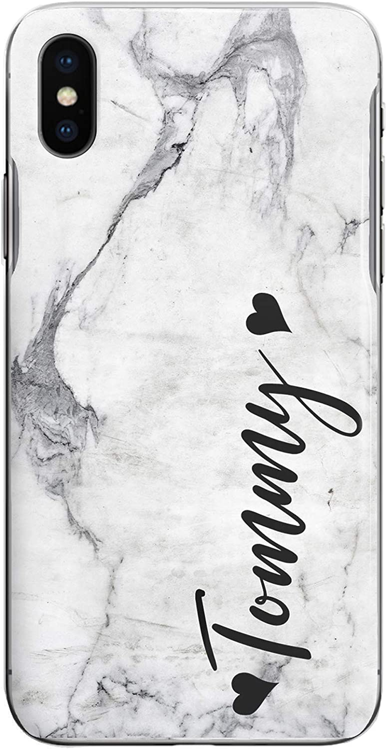 2016 Personalised Low Black Name Phone Case Blue Green Marble Swirl Effect Hard Cover for Samsung Galaxy A3