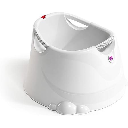 OKBABY Oplà S813 Vaschetta per il Bagnetto del Neonato, 12-36 Mesi, Bianco (Pearl White)