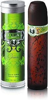 Champs Champs Cuba Green EDT for Men 3.3 oz, 100 ml, 3.3 Ounce (5425017736264)