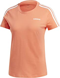 adidas Women's W E 3s Slim Tee T-Shirt