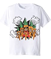 Stella McCartney Kids - Veg Gang Carrot Short Sleeve Tee Early (Toddler/Little Kids/Big Kids)
