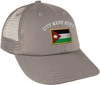 Custom Snapback Baseball Cap Jordan Embroidery City Name Cotton Mesh Hat Snaps