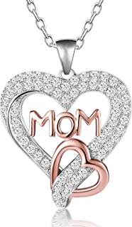 Best mum necklace white gold Reviews