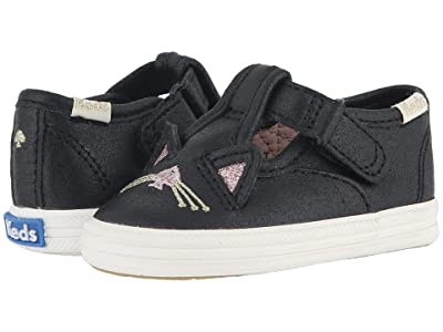 Keds x kate spade new york Kids Champion Toe Cap T-Strap (Infant/Toddler) (Hayden Cat) Girls Shoes