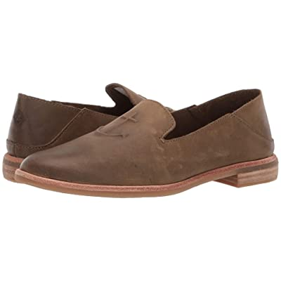 Sperry Seaport Levy Leather (Olive) Women