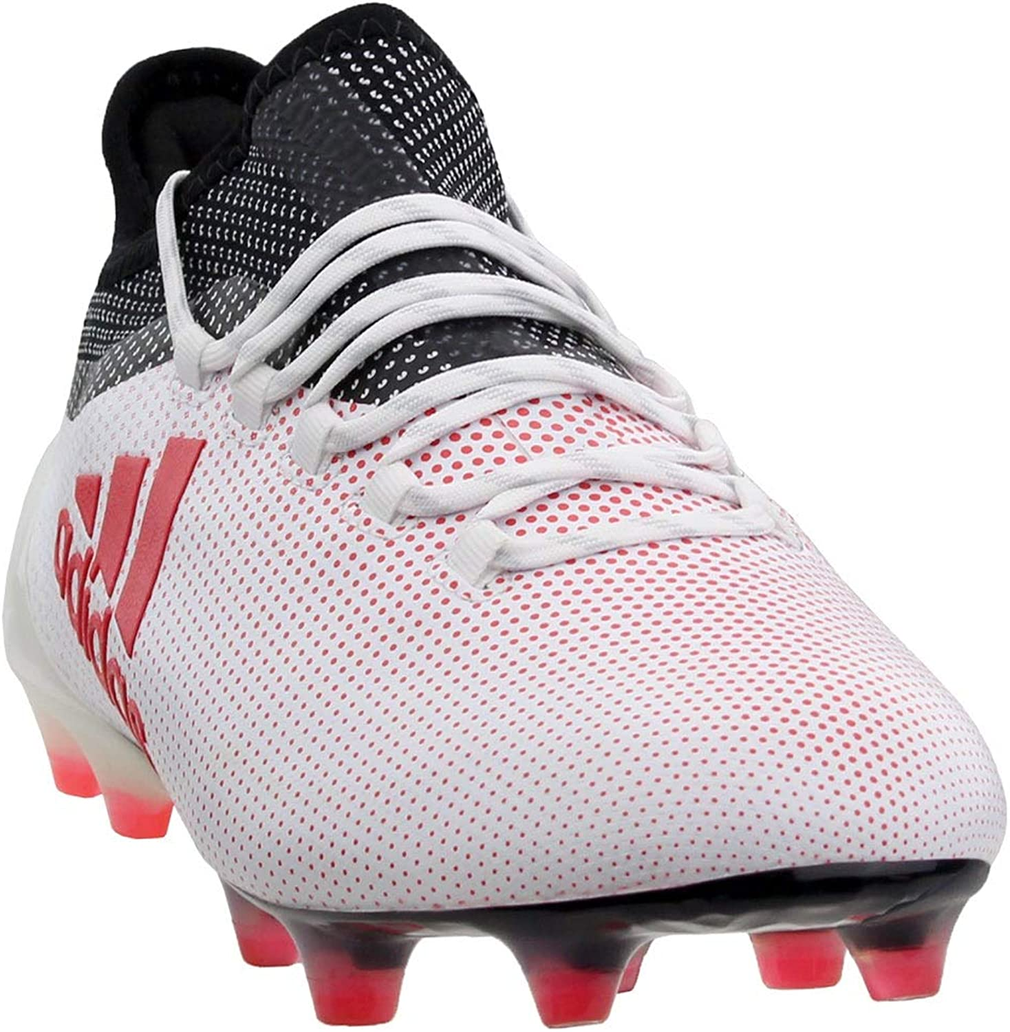 Adidas X 17.1 Men's Firm Ground Soccer Cleats (8 D(M) US) White Red Black
