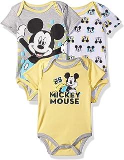 Disney Baby Mickey Mouse - Conjunto de 3 Body para niño