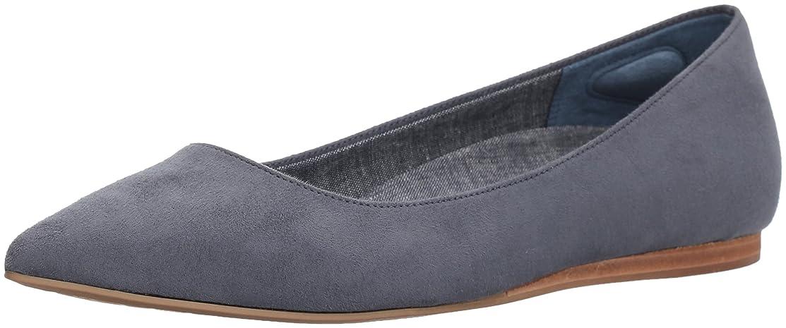 入手しますファランクスうねるDr. Scholl's Shoes Womens Flats, Blue, Size 6
