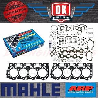 ARP Stud Kit w/Mahle Head Gasket Set HS54580 & Grade 'C' Head Gaskets 54582 54585 - Duramax LB7 6.6