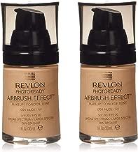 Revlon PhotoReady Airbrush Effect Makeup, Nude 2-PACK