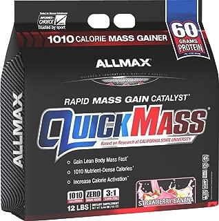 Best allmax nutrition quickmass Reviews