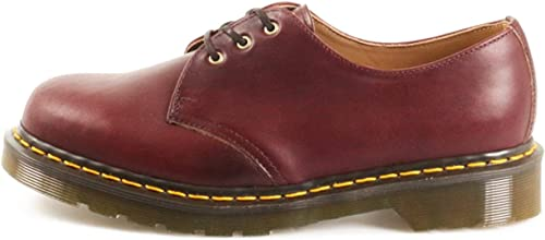 Dr. Martens 1461 Pascal Horween Made in England Burgundy Chrome Excel-44