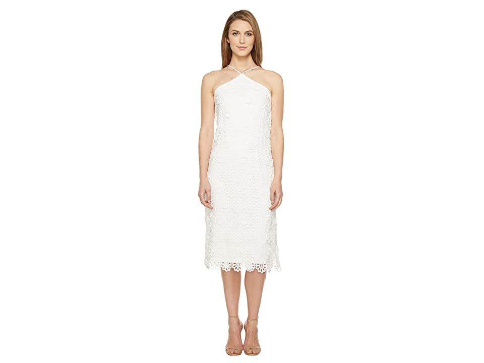 Trina Turk Conga Dress (White Wash) Women
